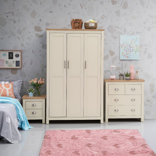 Lisbon 3 Piece Bedroom Set