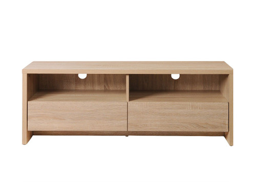 Essentials Sonoma Oak TV Cabinet with 2 Drawers