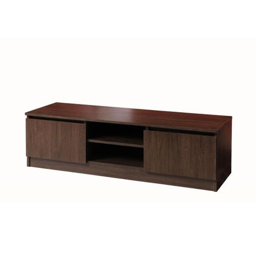 Essentials Dark Oak TV Cabinet