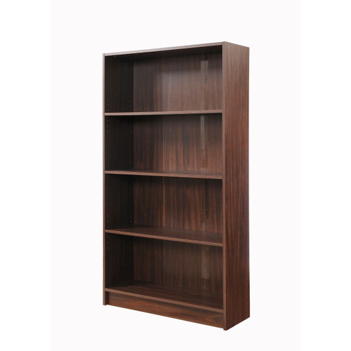 Essentials Dark Wood Tall Bookcase