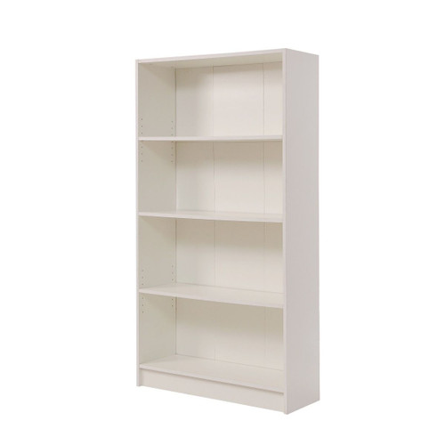 Essentials White Tall Bookcase