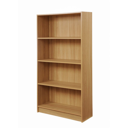 Essentials Oak Effect Tall Bookcase