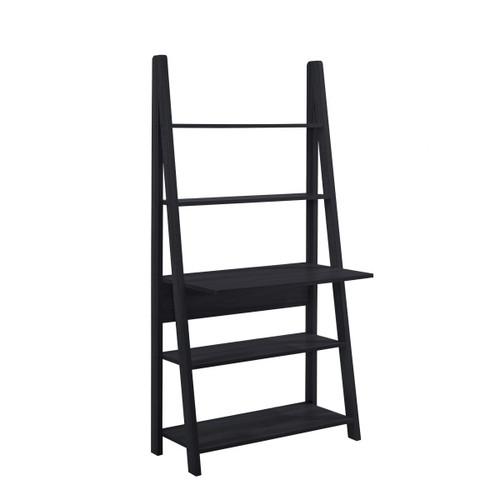 Riva Black Tall Ladder Desk