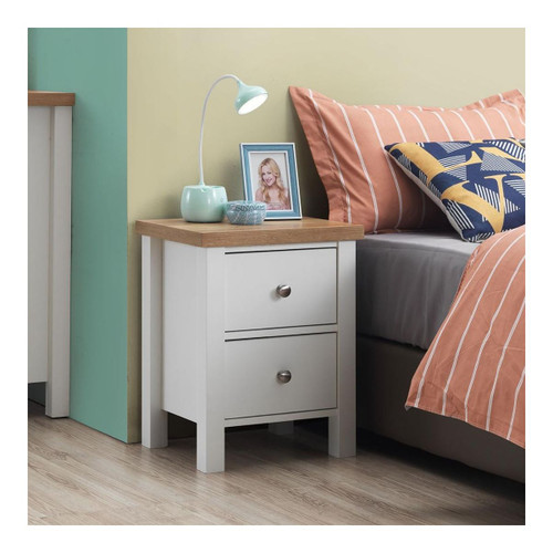 Astbury Nightstand with 2 Drawers