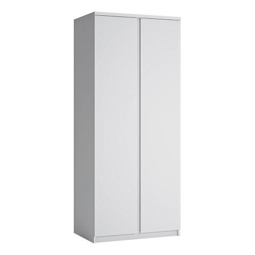 Fribo White 2 Door Wardrobe