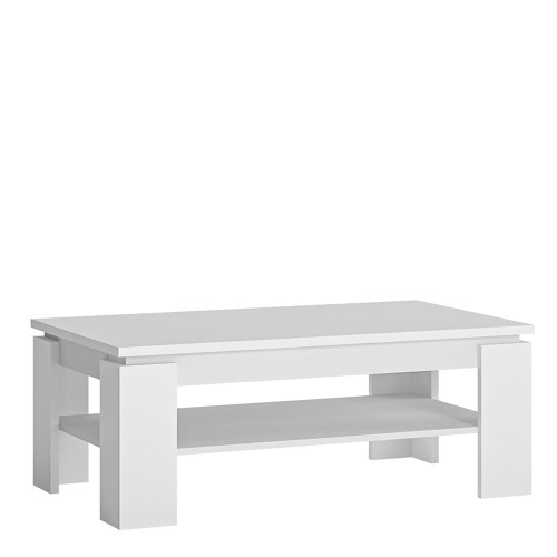 Fribo Large White Coffee Table