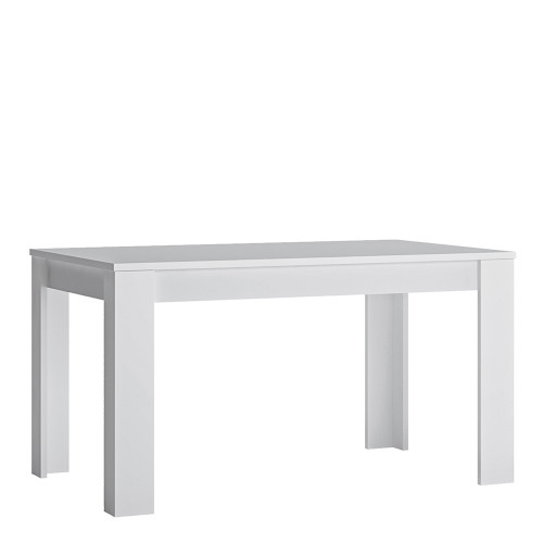 Fribo White Extending Dining Table
