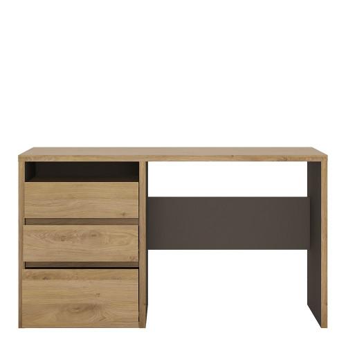 Shetland Oak and Grey Desk