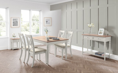 Provence Dining Table Set with 4 Chairs