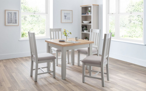 Richmond Flip-top Dining Table with 4 Chairs