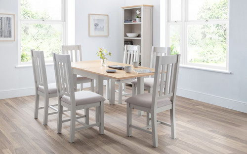 Richmond Flip-top Dining Table with 6 Chairs