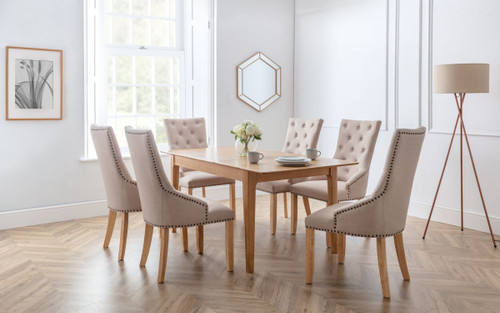 Cotswold Dining Table with 6 Loire Chairs