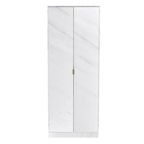 Hong Kong Marble 2 Door Wardrobe