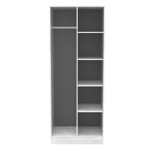 Hong Kong Marble Open Shelf Wardrobe
