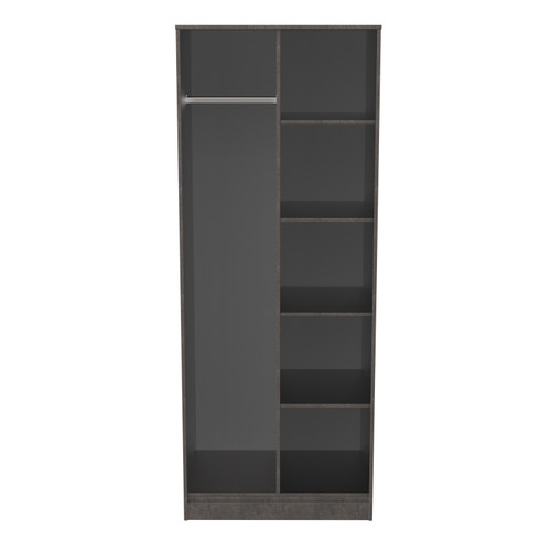 Hong Kong Pewter Open Shelf Wardrobe
