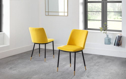 Delaunay Mustard Dining Chair