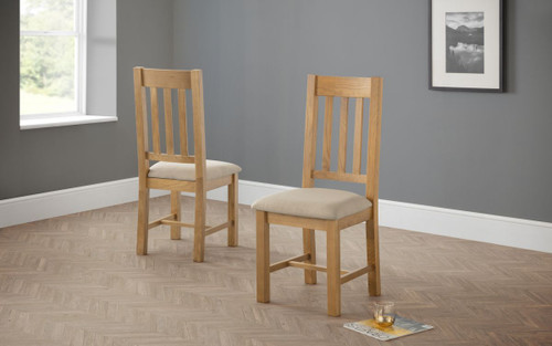 Hereford Pair of Dining Chairs