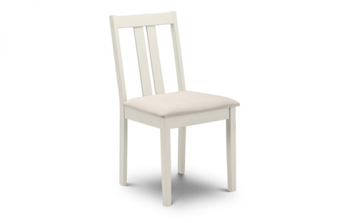 Rufford Pair of Ivory Dining Chairs