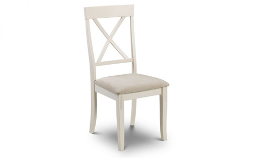 Davenport Pair of Ivory Dining Chairs