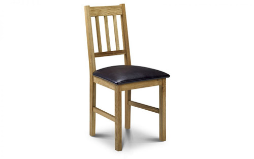 Coxmoor Pair of Oak Dining Chairs