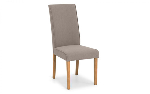 Seville Pair of Linen Dining Chairs