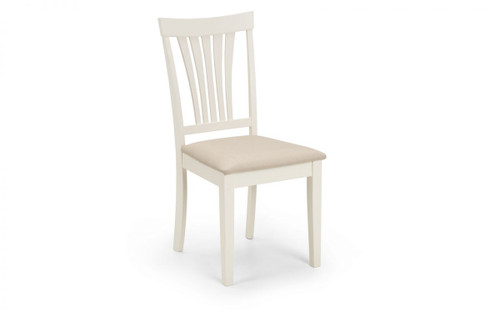 Stanmore Pair of Ivory Dining Chairs
