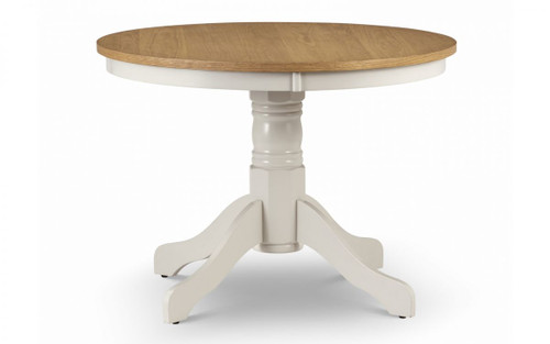 Davenport White Round Dining Table