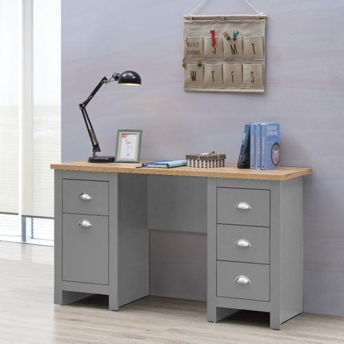 Lisbon Grey Study Desk