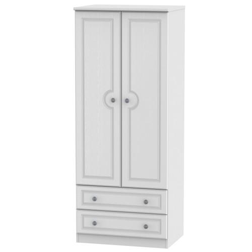 Pembroke 2 Door 2 Drawer Wardrobe