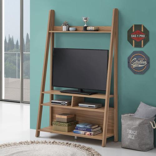 Riva Oak Effect Ladder TV Unit