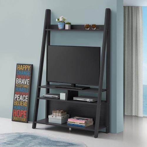 Riva Black Ladder TV Unit