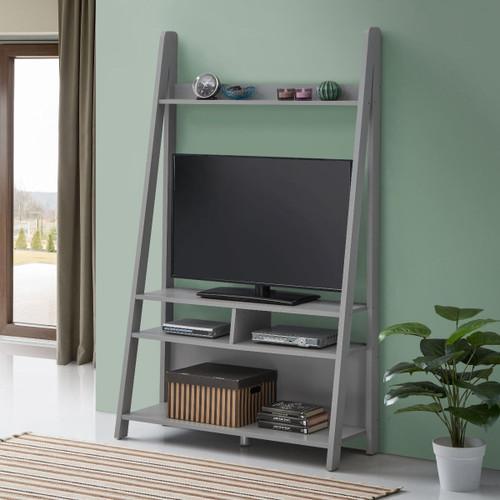 Riva Light Grey Ladder TV Unit