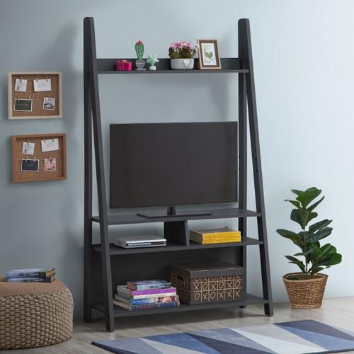 Riva Dark Grey Ladder TV Unit