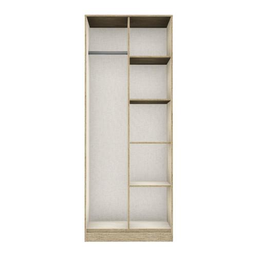 Hong Kong Jigsaw Bardolino Open Shelf Wardrobe