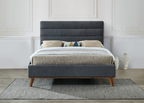 Mayfair Bed in Charcoal Grey