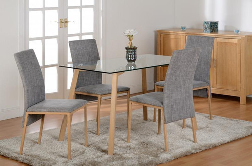 Morton Glass Dining Set