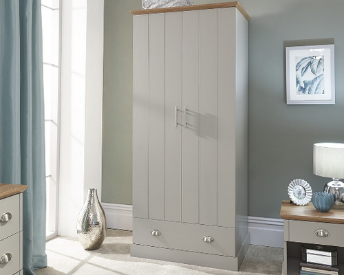 Kendal 2 Door 1 Drawer Wardrobe