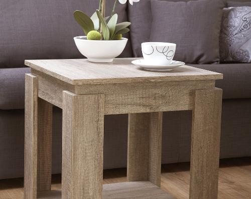 Canyon Oak Lamp Table