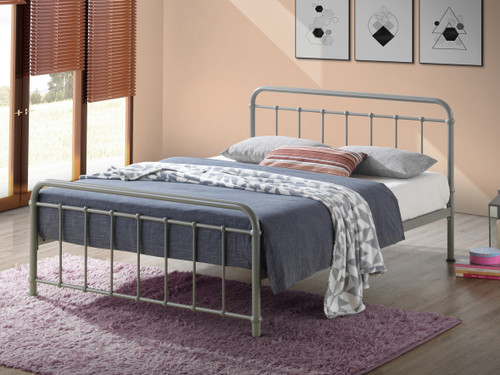 Miami Stone Metal Bed