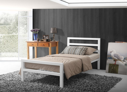 City Block Bed White