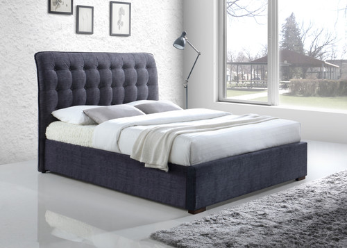 Hamilton Bed in Charcoal Grey