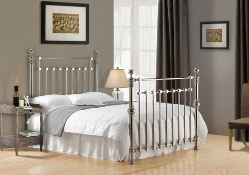 Edward Bed in Chrome