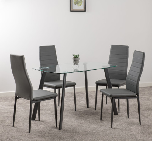 Abbey Grey Dining Set