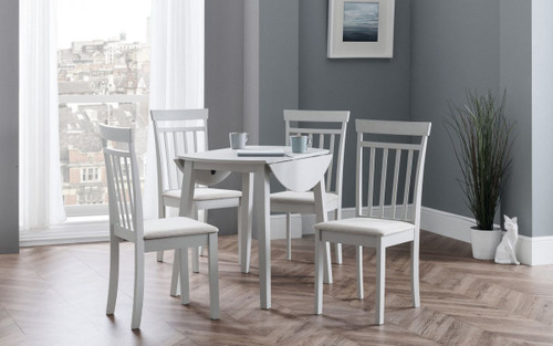 Coast Dining Set in Pebble
