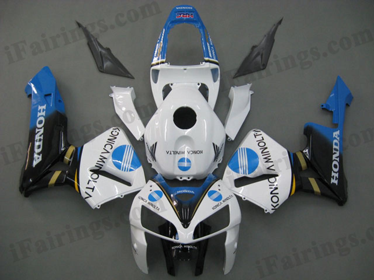 2005 2006 Cbr600rr Konica Minolta Fairings And Body Kits