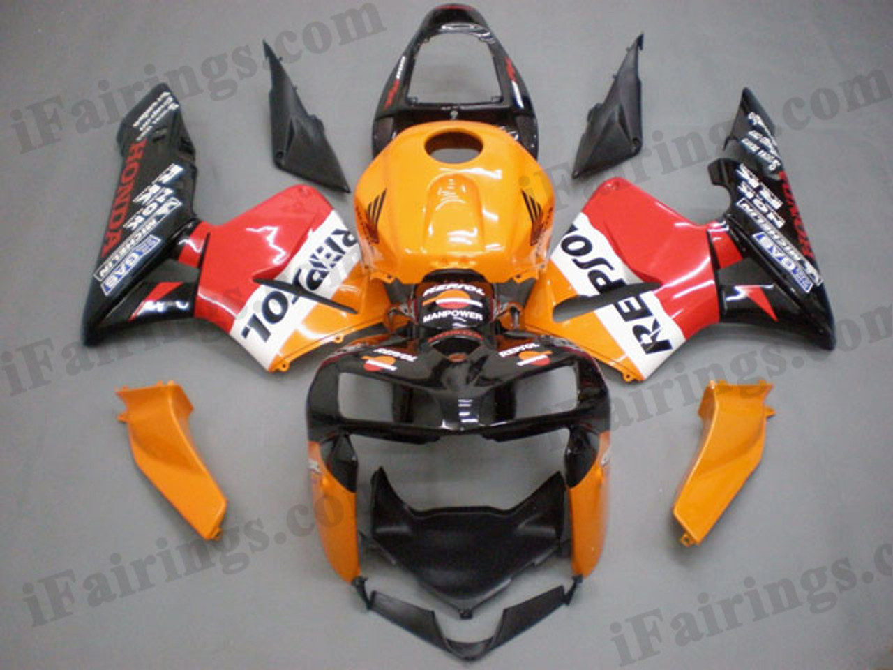 Aftermarket Fairing Kits For 2005 2006 Cbr600rr Repsol Graphics