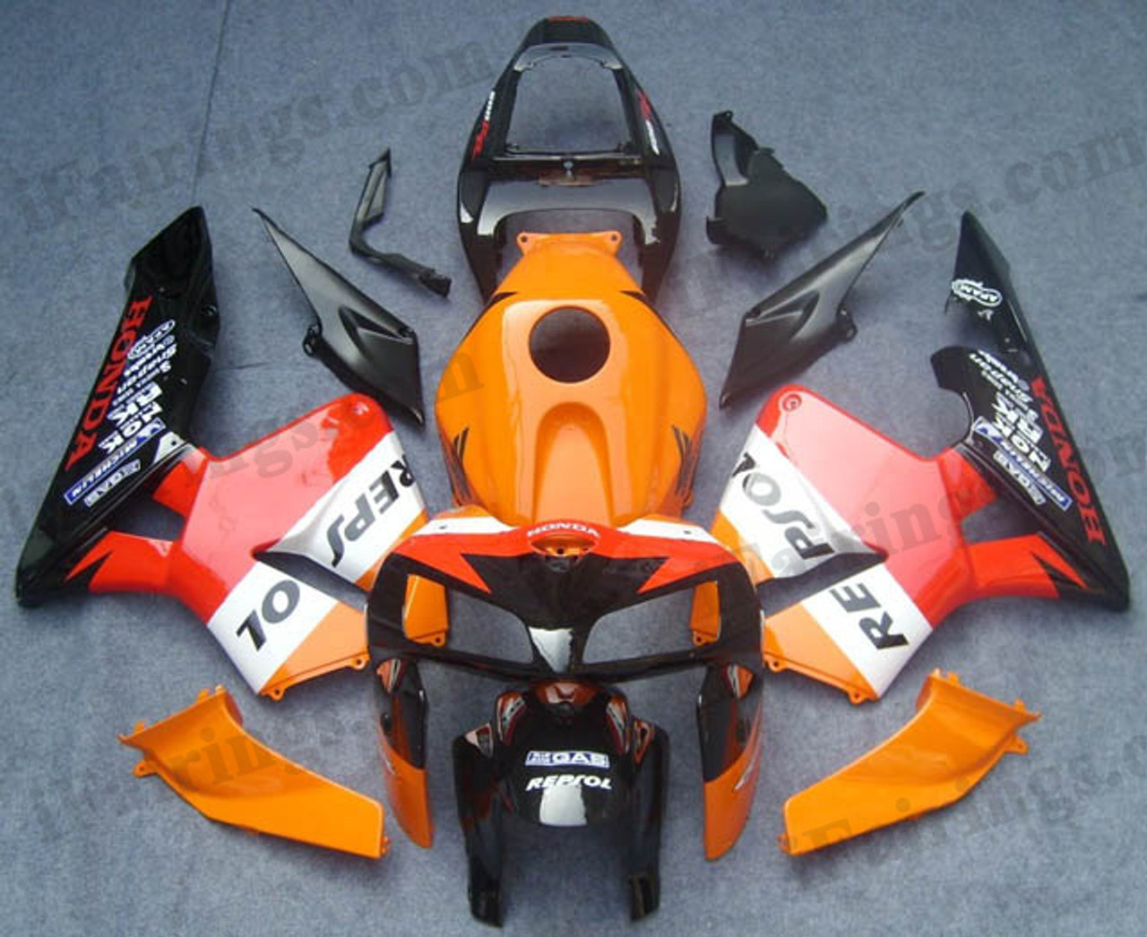Replacement Fairings And Body Kits For 2005 2006 Cbr600rr Repsol Graphic