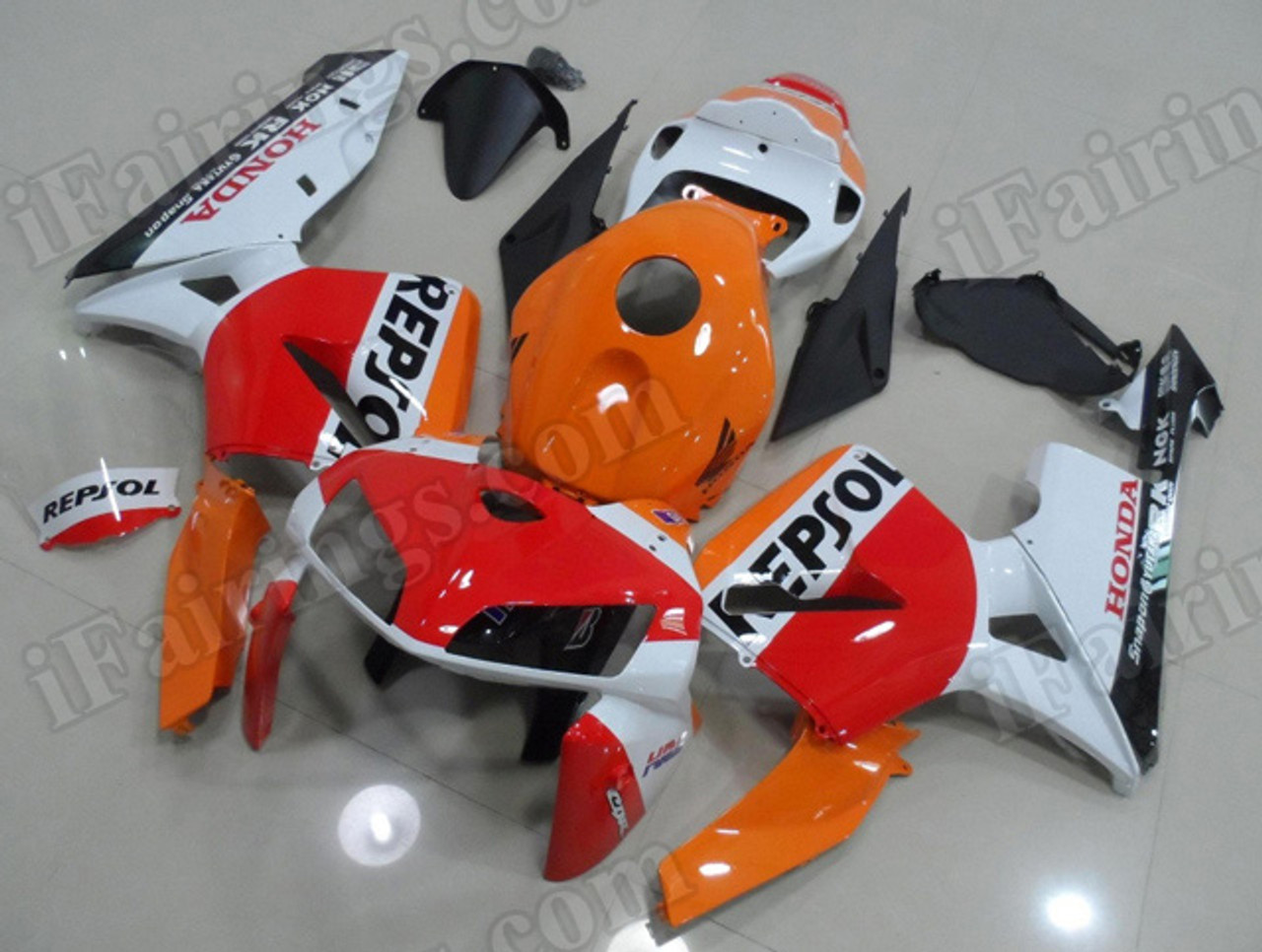 Oem Replacement Fairing Sets For Honda Cbr600rr 2005 2006 Repsol