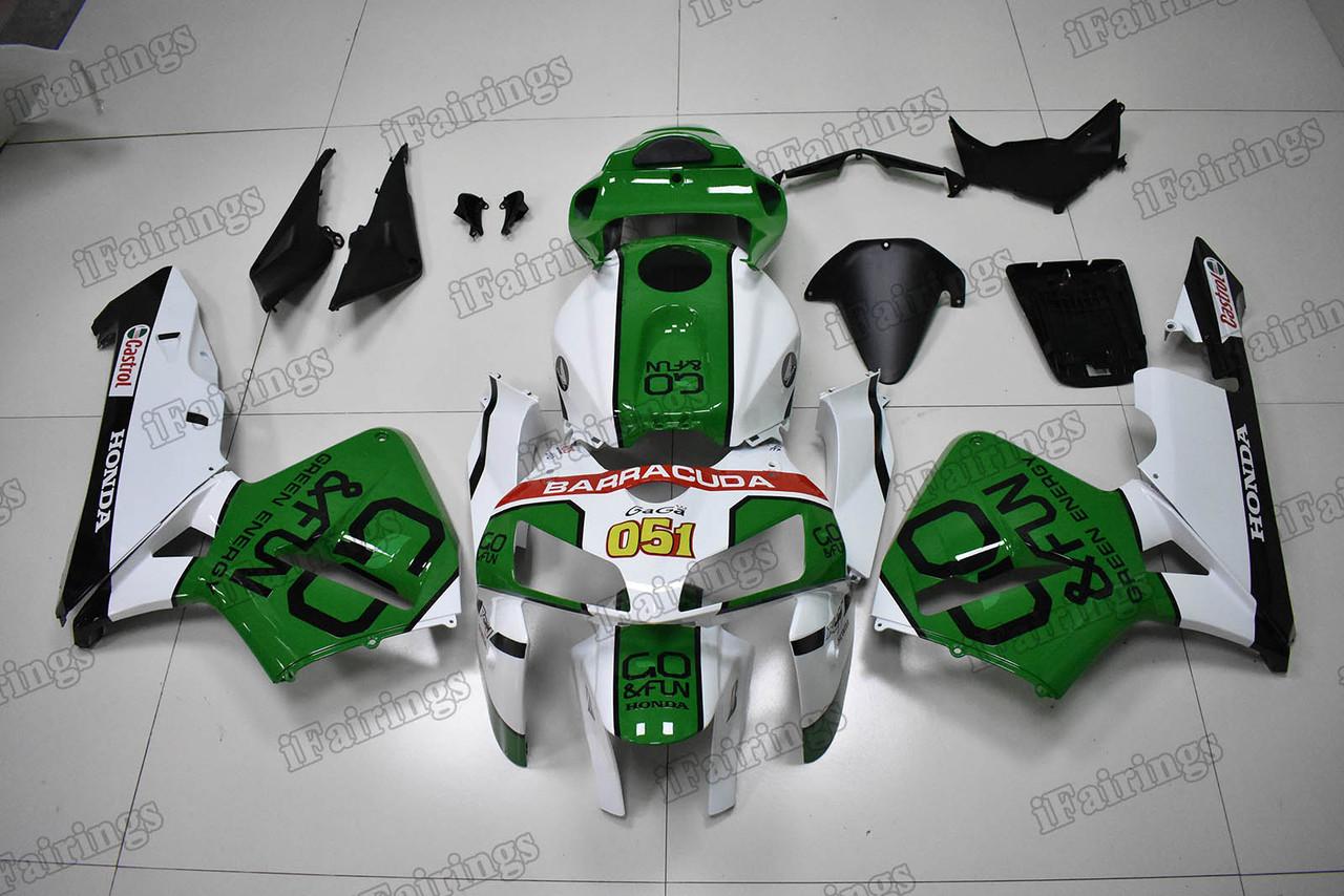 White Black Green ABS Injection Bodywork Fairing Kit Fit for CBR600RR 2005 2006