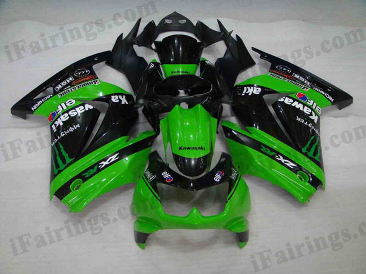 2008 To 2012 Ninja 250r Monster Replacement Fairing Kits